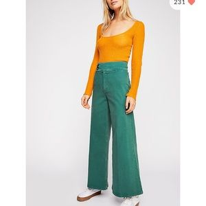 Free people youthquake bellbottoms